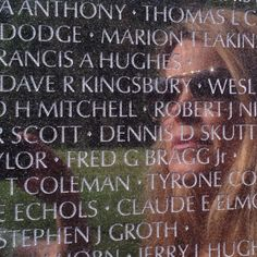 With my Uncle Dave Royce Kingsbury, who gave his life for his country.  #washingtonmonument #vietnam #thewall #veteranswall #dc #washington #patriot #patriotic
