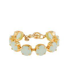 Translucent stone bracelet