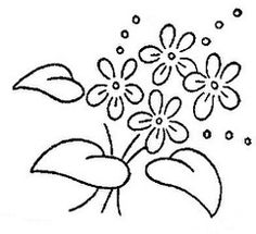 Simple Hand Embroidery Patterns, Flower Embroidery Designs, Vintage Embroidery, Floral Embroidery, Hand Embroidery Dress, Cushion Embroidery, Embroidery Stitches, Easy Flower Drawings, Graphic Design Portfolio Examples