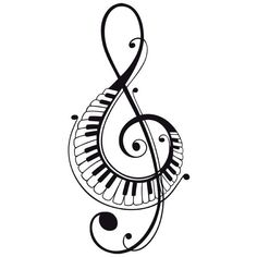 Xkito music, I don't want to love you and afterlife Touches De Piano, Music Symbols, Music Drawings, Music Images, Music Tattoos, Pyrography, Art Music, Doodle Art, Line Art