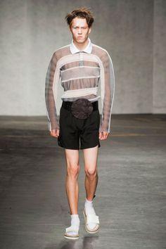 Xander Zhou Menswear Spring 2015