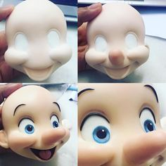1 million+ Stunning Free Images to Use Anywhere Clay Projects, Clay Crafts, Diy And Crafts, Pinocchio, Polymer Clay Disney, Clay Magnets, Fondant Animals, Christmas Clay, Clay Faces