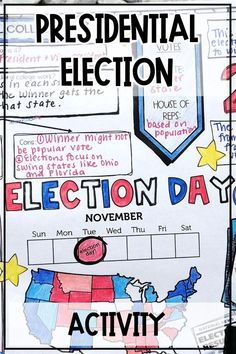 Everything you need to teach your upper elementary social studies students about the U.S. presidential election! This presidential election unit teaches students about the presidential election process, electoral college, political parties, and election campaigns using nonfiction readings and sketch notes graphic organizers. Your 4th, 5th, and 6th grade social studies students will show what they've learned by writing and recording a campaign speech to become president.