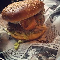 These burgers are sure to make your mouth water! Check out Tower Burger in Alpharetta.