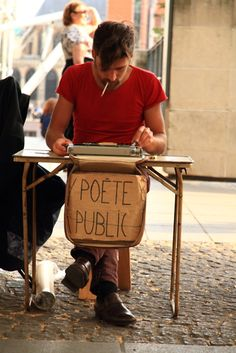 Ecrivain des rues ... respect.