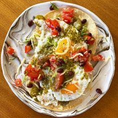 Huevos Rancheros, Vegetable Pizza, Mexican Food Recipes, Tacos, Fresh, Mexican Recipes