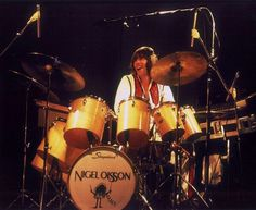 Nigel Olsson of the Elton John Band