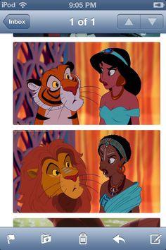 African Jasmine and Rajah.
