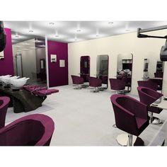 #salon #decor #modern