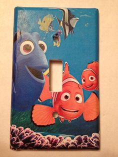 Finding Nemo Light Switch Covers Disney Home Decor Outlet  #Disney