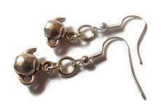 Silver Teapot Earrings by TaylorsArtsAndCrafts on Etsy