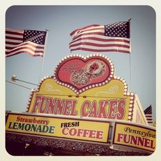 Funnel Cakes at the local County Fair