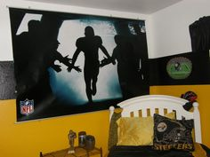 awesome steelers bedroom