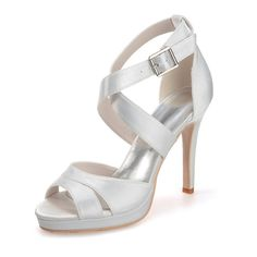 Clearbridal Women's Ivory Evening Party Wedding Shoes ZXF5915-11IV 6.5 B(M) US