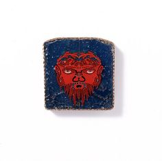Romano-Egyptian Mosaic Glass Inlay Depicting a Satyr 1stcent.AC