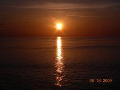 Sunset near Jacksonville, Florida