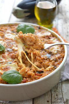 Italian Pasta Recipes, Sicilian Recipes, Italian Dishes, Sauce Recipes, New Recipes, Favorite Recipes, Arancini Recipe, Couscous, I Foods