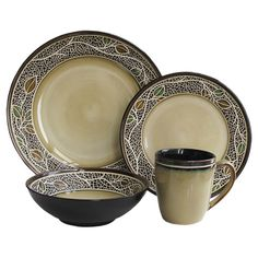 Found it at Wayfair - 16-Piece Emilie Dinnerware Set