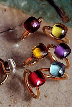 pomellato nudo rings