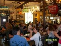 love this place - white wolfe cafe off Orange in Orlando.  Only been for breakfast -their benedicts are fantastic.