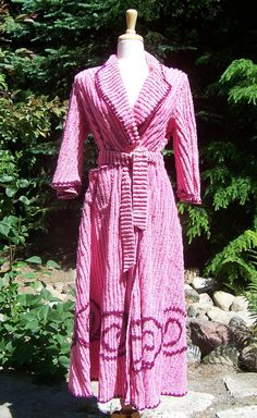 vintage chenille robes:: I need this. Just like A Christmas Story