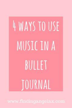 bullet journal music, planning, planner, plan, journaling, musician, spread, notes,