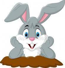Coelho dos desenhos animados sair do bur. Picture Icon, Rabbit Baby, Artist Portfolio, Art Icon, Baby Bunnies, Looney Tunes, Easter Crafts, Pet Birds, Art Images