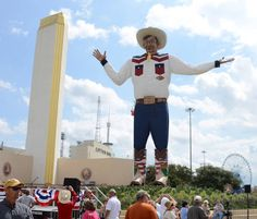 Big Tex is back at the State Fair of Texas in Dallas!