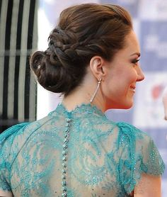How gorgeous is this hair style? Kate Middleton