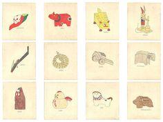 フィリップ・ワイズベッカーの描く「日本の郷土玩具」が九谷焼の絵皿に。|さんち 〜工芸と探訪〜 Chinese Fabric, Japanese Tree, Korean Art, Games To Play, Playing Games, Illustrations And Posters, Folk Art, Weird, Toys