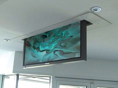 Future Automation - PLIS - Inverted TV Ceiling Lift with Swivel