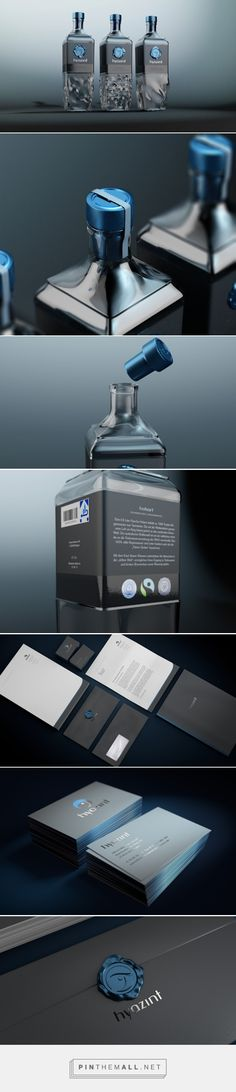 Hyazint - Fair Mineral Water Range (Student Project) - Packaging of the World - Creative Package Design Gallery - http://www.packagingoftheworld.com/2016/06/hyazint-fair-mineral-water-range.html
