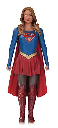 TV's Girl of Steel is finally fully realized in three dimensions of amazing with this Supergirl action figure from DC Collectibles! Painstakingly scultped in the likeness of actress Melissa Benoist, this figure features lifelike detail, dozens of po Superman Love, Dc Comics Action Figures, Supergirl Tv, Cw Dc, Bonnie Tyler, Dc Tv Shows, Tv Girls, American Comics, Tv Series