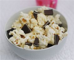 Andes Mint White Chocolate Popcorn - Well it does have Andes Candy in it so it qualifies.  :)