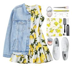 #1129 Angela by blueberrylexie on Polyvore featuring polyvore fashion style MANGO Vans Cara Too Faced Cosmetics Bobbi Brown Cosmetics Kate Spade clothing Teen Fashion Outfits, Fashion Sets, Women's Fashion, Under Dress, Complete Outfits, Spring Summer Fashion, Polyvore Fashion, Outfit Of The Day, Cute Outfits