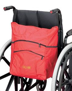 Homecraft Wheelchair Carry Bag - Red 10092832 80 Advantage card points. Designed to hang from the handles of a rear push wheelchair, this high quality wheelchair carry bag features two zipped pockets, two net pouches and a removable zip pouch. FR http://www.MightGet.com/february-2017-1/homecraft-wheelchair-carry-bag--red-10092832.asp
