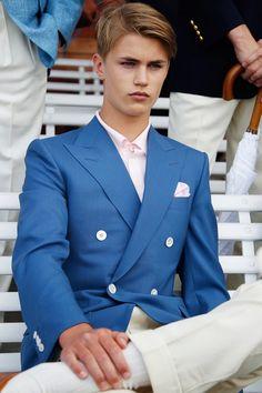 B&R x Ariston Window Pane Suit | The Good Stuff | Pinterest
