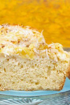 Luftiger Ananaskuchen mit Kokosraspeln - Diät - bildderfrau.de