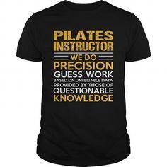 PILATES INSTRUCTOR T Shirts, Hoodies. Check price ==► https://www.sunfrog.com/LifeStyle/PILATES-INSTRUCTOR-114899027-Black-Guys.html?41382 $22.99