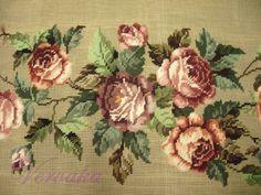 Gallery.ru / Фото #125 - СОЗЕРЦАЕМ КРАСОТУ-23 - GAVRUCHA Cross Stitch Rose, Cross Stitch Embroidery, Embroidery Patterns, Hand Embroidery, Cross Stitch Patterns, Crochet Patterns, Embroidered Flowers, Needlepoint, Amazing Art