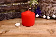 Κεριά Κυλινδρικά Κόκκινα Φ10x10εκ Pillar Candles, Home Decor, Decoration Home, Room Decor, Taper Candles, Interior Decorating