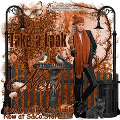 "Tube ""Orange Autumn"" by Danny Lee Kit ""Orange Autumn"" by Tammy's Welt"