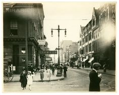 and Chestnut St. Philadelphia Pa, Old Photos, Street View, Old Pictures, Vintage Photos