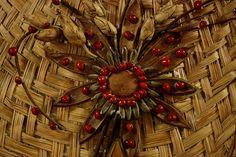 Detalhe de artesanato indígena comercializado em Boa Vista, capital de Roraima MAIS Eduardo Vessoni/UOL