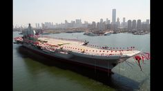 China's Type 001A aircraft carrier Shandong - Newly Build bahamoth ship