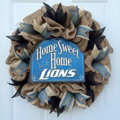 Detroit Lions Wreath