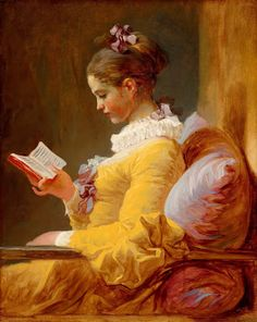 Jean-Honoré Fragonard, Girl Reading, 1770