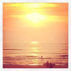 Evening surf @The Spot