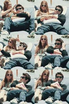 Holland Roden and Dylan O'Brien