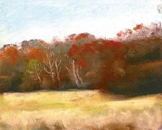 The Splendor of Autumn Original Art and Prints http://eepurl.com/3SYPT